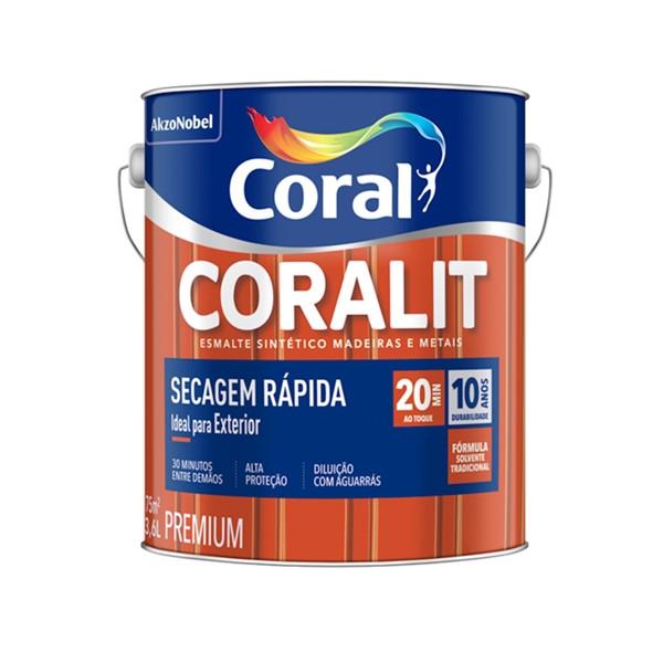 Esmalte Sintetico Coralit Secagem Rápida