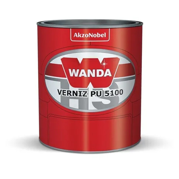 Verniz Automotivo Pu 5100 Wanda Alto Sólidos