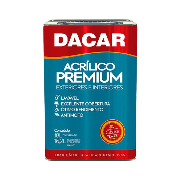 DACAR ACRÍLICO PREMIUM CLÁSSICA