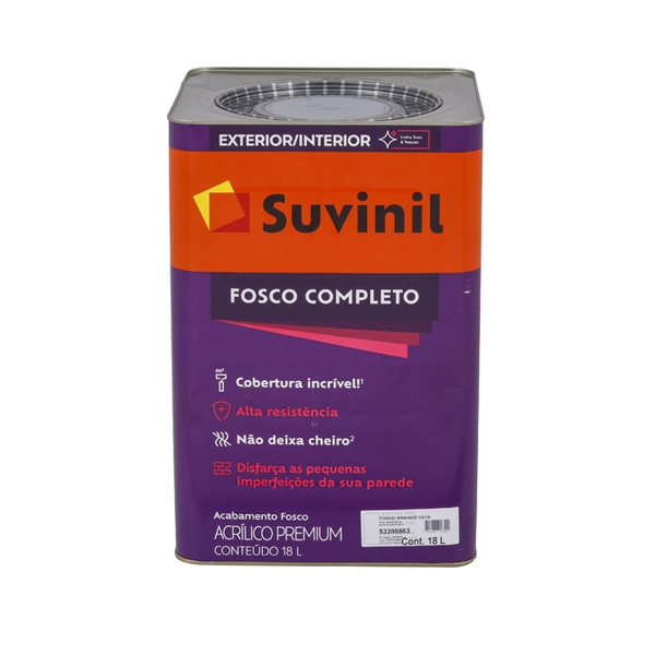 Tinta Acrílica Fosco Completo Premium